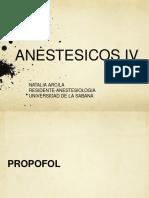 ANESTESICOS ENDOVENOSOS (1)