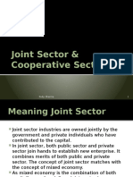 jointsectorcooperativesector-140418050449-phpapp01
