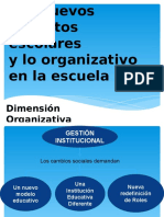 el director y la dimension organizativa 4° AÑO CIENCIAS