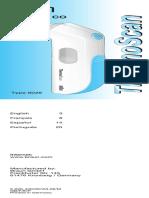 Manual Termometro Braum
