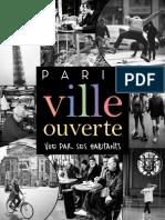 Paris, ville ouverte