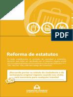Guía 21 Reforma de Estatutos