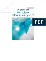 Written Report Identify and Source Information Needs