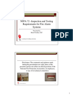 Fire Alarm Inspection and Testing Requirements