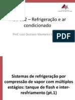 5 - Comp Multi-estágio Pt.1 - Tanque de Flash e Inter-resfriamento - UFJF