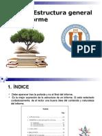 Estructura General de Un Informe