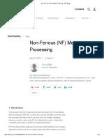 Non-Ferrous (NF) Metals Processing - SAP Blogs