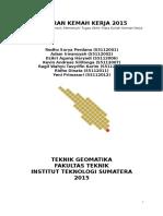 Laporan Kemker Geomatika ITERA