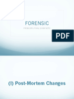 Forensic Final Exam Note