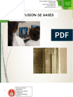 Difusion de Gases