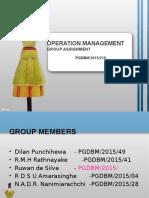 OM Group Assign.