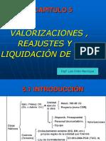 1 - Valorizaciones Reajustes Liquidaciones(a) (1)