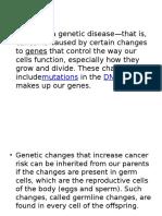 Genetic 3rd Sem