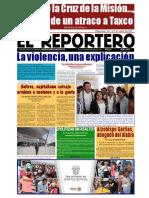 Gradoceropress Semanario Reportero No. 10424. Director Andrés Campuzano Baylón.