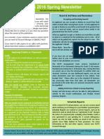 Spring 2016 Newsletter Final PDF
