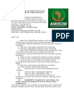 AMISOM set to begin the process of making amends for civilian harms in Somalia