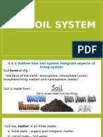 3.4 Soil System