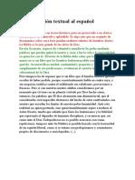 Biblia Versión Textual Al Español
