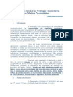 RESTINGAS Regime Jurídico Aplicável Às Restingas