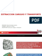 1 Clase Extraccion Carguio y Transporte 1