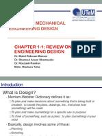 Chapter 1-1 Design Against Failure