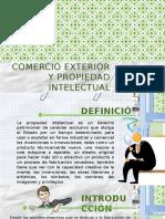 COMERCIO EXTERIOR Y PROPIEDAD INTELECTUAL