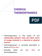 11- Chemical Thermodynamics