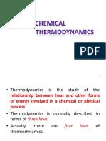 11- Chemical Thermodynamics