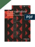 ANTUNES R - Crisis Capitalista