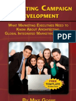 Marketing Campaign Development