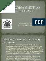 Derecho Colectivo de Trabajo