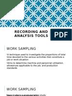 Lecture 12 - Work Sampling