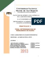1er Informe - Determinacion de manganeso en acero (1).doc