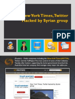 New York TimesTwitter Hacked by Syrian Group