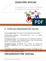 Organización de La Estructura Social