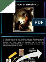 Paleolítico, Neolítico y Edad de Bronce
