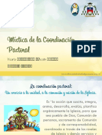 Mística de La Coordinación Pastoral