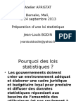 Preparation Loi Statistique JLB