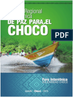 Foro Interétnico Solidaridad Choco.