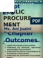 Chapter 6 - Public Procurement