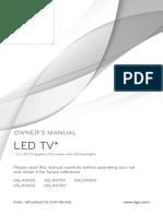 Manual Tv Lg 55la9650