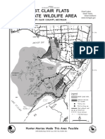 St Clair Flats SWA Map