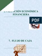 EVALUACIÓN ECONÓMICA FINANCIERA