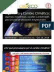 Presentacion Climate Choices in Honduras SP IAN MONROE