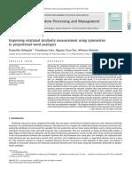 10.1016 J.ipm.2012.05.007 Improving Relational Similarity Measurement Using Symmetries in Proportional Word Analogies