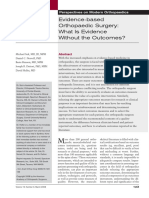 01. Evidence-based Orthopaedic Surgery - What Is Evidence Without the Outcomes.pdf