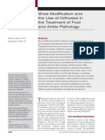 04. Shoe Modification and the Use of Orthoses in the Treatment of Foot and Ankle Pathology