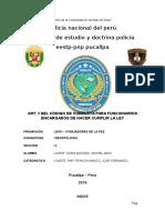 Codigo de Conducta - Forjadores de La Paz