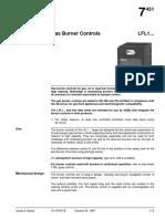 LFL Gas Burner Control -12-20
