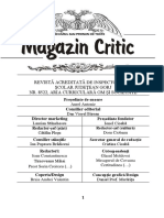 Magazin Critic, nr 52